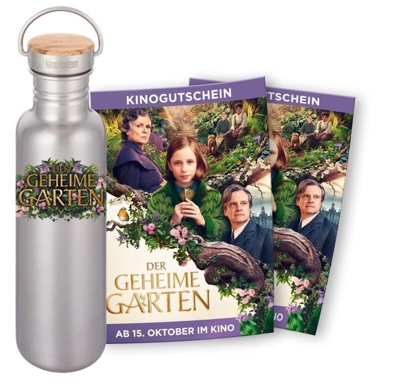 Klean_Kanteen_Gewinnspiel_Flasche_Kinokarten_Der_Geheime_Garten