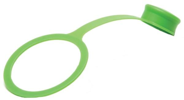 Staubschutz grün für Sport Cap