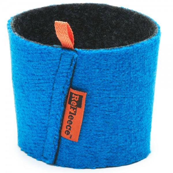 Refleece Cozie für Pint Cup blau