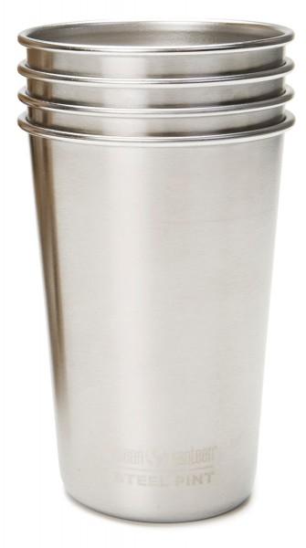 Pint Cup einwandig 16 oz (473 ml) im 4er Pack