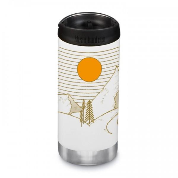 Edelstahl Isolierflasche TKWide Coast & Range limitiert 355ml Café Cap