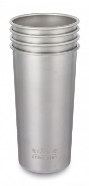 Pint Cup einwandig 20 oz (592 ml) im 4er Pack (Mod.2018)