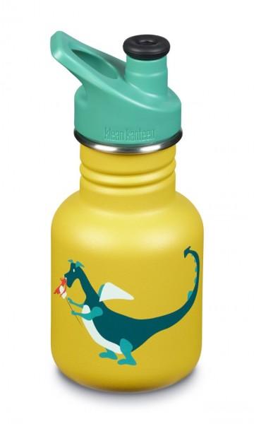 Klean-Kanteen-Kinder-Trinkflasche-355ml-12oz-Dragon-SnackKLCGpqsSz4ynF