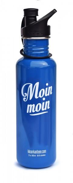 Classic einwandig Moin Moin 27 oz (800 ml) mit Sport Cap