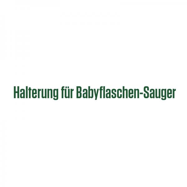 Halterung für Babyflaschen Sauger
