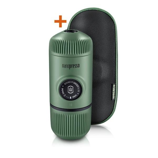 Wacaco Nanopresso tragbare Espressomaschine mit Schutzhülle
