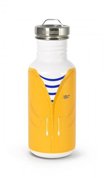 Edelstahl Trinkflasche Classic Friesennerz 532ml Edelstahl Schraubverschluss