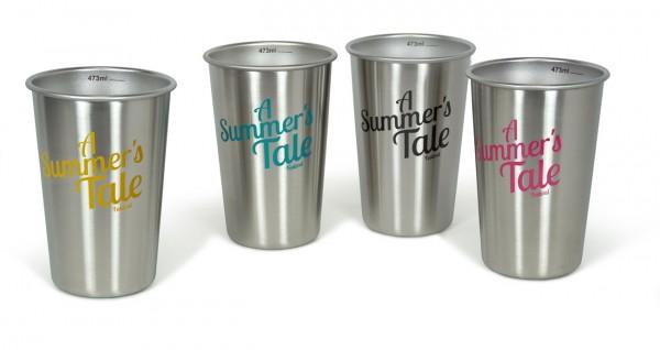 Pint einwandig 4er Pack 16 oz (473 ml) A Summer's Tale - 4 Farben
