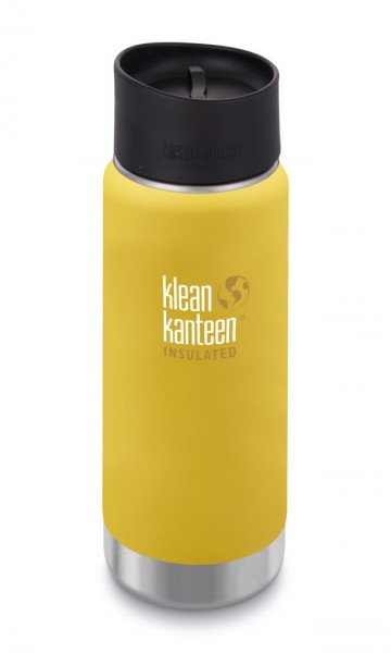 Klean-Kanteen-Wide-vakuumisoliert-473ml-mit-Cafe-Cap-Lemon-Curry-neu
